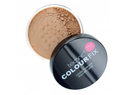 technic colour fix loose face powder 20g terracotta