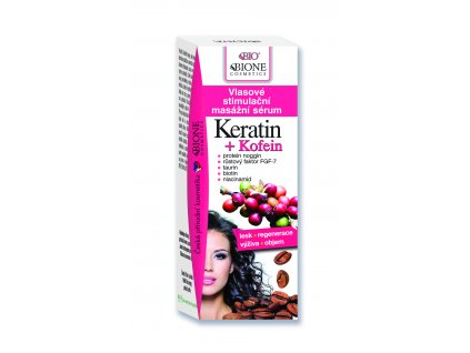 Kofein vlasove stimulacni masazni serum
