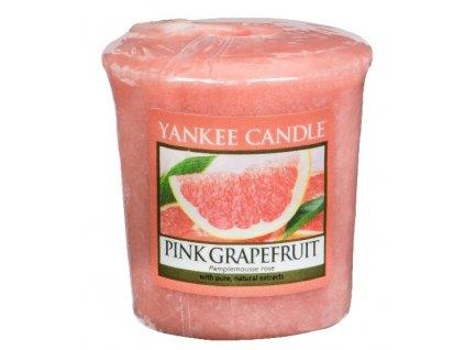 Yankee candle - Vonná svíčka votivní PINK GRAPEFRUIT