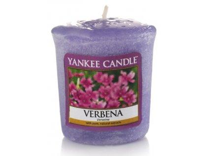Yankee Candle - Vonná svíčka votivní VERBENA