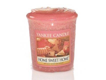 Yankee candle - Vonná svíčka votivní HOME SWEET HOME