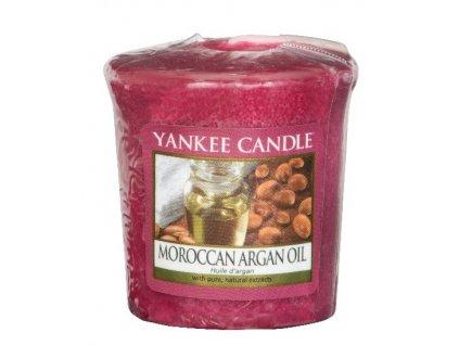 Yankee candle - Vonná svíčka votivní MOROCCAN ARGAN OIL