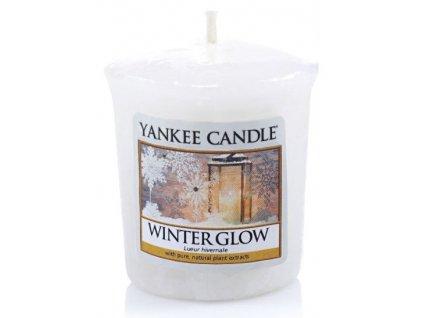 Yankee candle - Vonná svíčka votivní WINTER GLOW