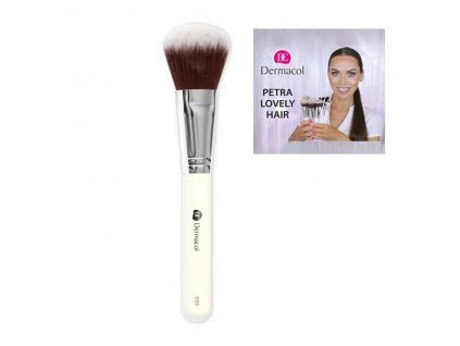 Dermacol - Štětec na pudr D55 - Powder Brush By Petra