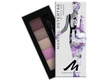 Manhattan - Paletka stínů marcel Ostertag - Girl With a violet