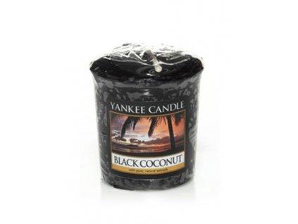 Yankee candle - Vonná svíčka votivní BLACK COCONUT