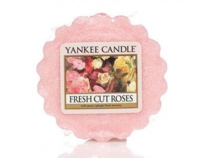 Yankee candle - Vonný vosk do aromalampy FRESH CUT ROSES