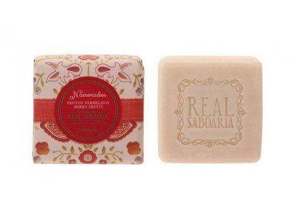 Real Saboaria - Luxusní mýdlo Červené bobule 50g