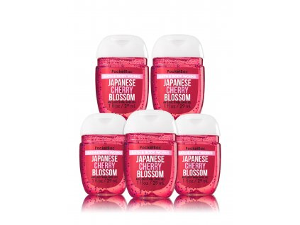Bath & Body Works - antibakteriální gel na ruce JAPANESE CHERRY BLOSSOM 29ml