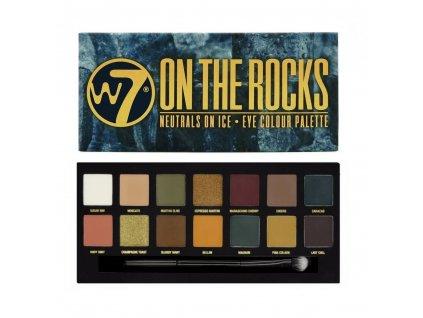 W7 - paletka očních stínů On the Rocks