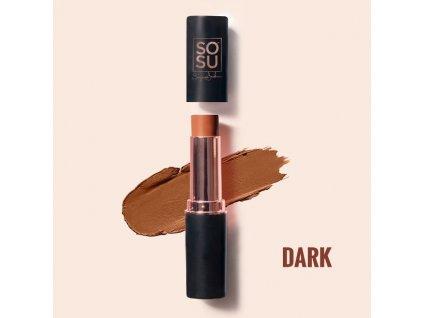 SOSU - Krémová multifunkční tyčinka Contour - Dark