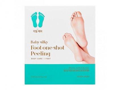 Holika holika - Baby Silky Foot One Shot Peeling a Revitalizující maska na nohy