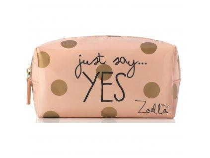 Zoella Beauty - kosmetická taštička Just say yes...
