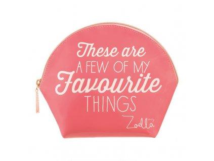 Zoella Beauty - kosmetická taštička Favourite things
