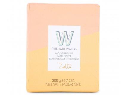 Zoella Beauty - Šumivé oplatky do koupele Pink bath Wafers