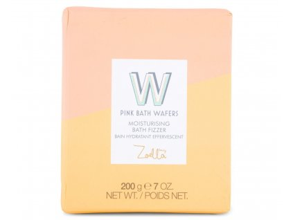 Zoella Beauty - Šumivé oplatky do koupele Pink bath Wafers