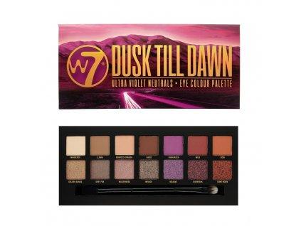 W7 - paletka očních stínů Dusk Till Dawn