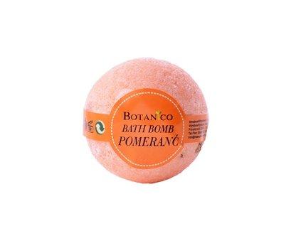 BOTANICO - koupelová koule šumivá 50g pomeranč