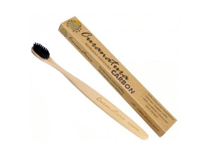 curanatura bambusovy zubni kartacek carbon cerne uhlikove stetinky ekoplasty 23 1601