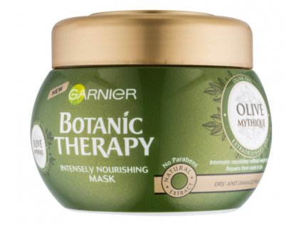 Garnier - Botanic Therapy Olive vyživující maska pro suché a poškozené vlasy 300 ml