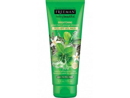 Freeman - Slupovací maska zelený čaj a pomerančový květ 175 ml
