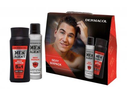Dermacol - Dárkový balíček Men Agent Sexy six pack