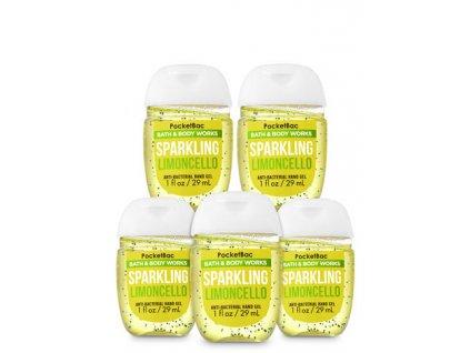 Bath & Body Works - Antibakteriální gel na ruce SPARKLING LIMONCELLO