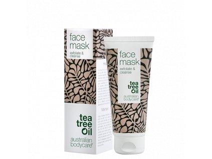 Australian Bodycare - Exfloliační a čístící pleťová maska s tea tree olejem 100ml