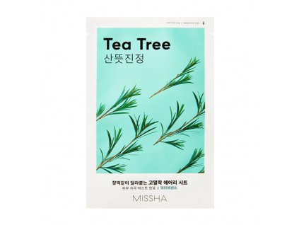 Missha - Airy Fit Plátýnková maska s výtažkem z tea tree