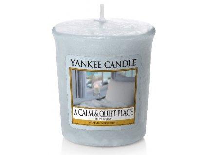 Yankee candle - Vonná svíčka votivní A CALM & QUIET PLACE