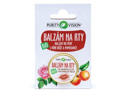 Purity Vision - Balzám na rty BIO 12 ml