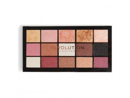Makeup Revolution - paletka 15 očních stínů Re-Loaded - Affection