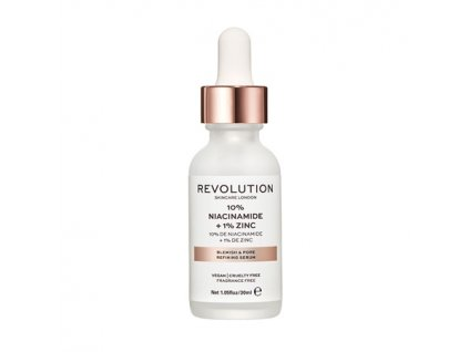 Makeup Revolution Skincare - Blemish and Pore Refining Serum - 10% Niacinamide + 1% Zinc