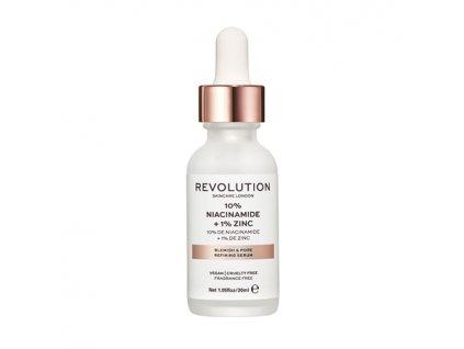 Makeup Revolution Skincare - Blemish and Pore Refining Serum - 10% Niacinamide + 1% Zinc
