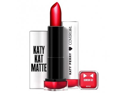 Covergirl - Matná rtěnka Katy Perry CRIMSON CAT