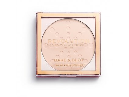 Makeup Revolution - Bake & Blot Lace pudr