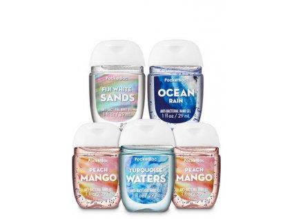 Bath & Body Works - Antibakteriální gel na ruce PEACH MANGO 29 mll