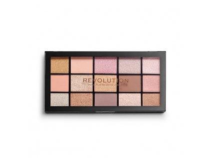 Makeup Revolution - paletka 15 očních stínů Re-Loaded - Fundamental