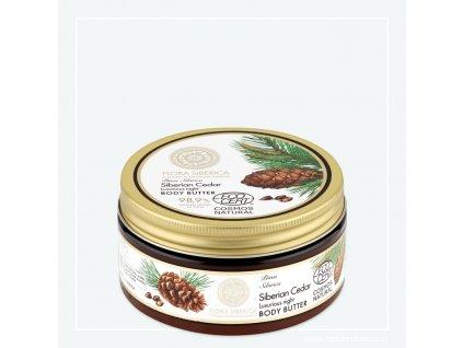 NATURA SIBERICA - Flora Siberica Luxusní noční tělové máslo Borovice sibiřská 300 ml
