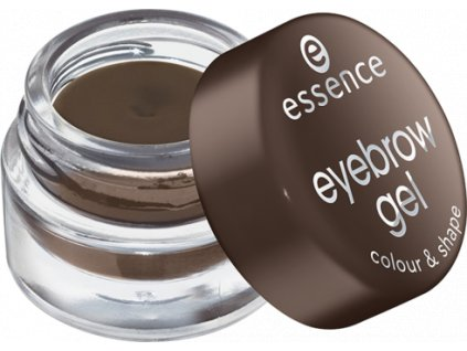 Essence - gel na obočí colour & shape 01 brown