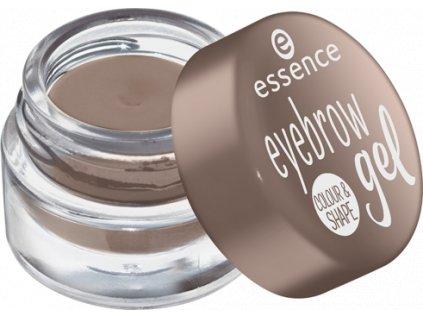 Essence - gel na obočí colour & shape 02 blonde
