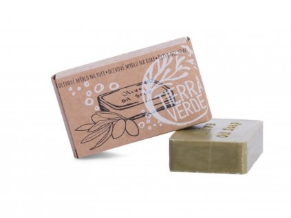 Mama Natura - Olivové mýdlo na ruce (100 g)