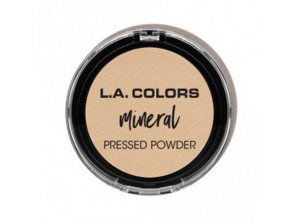 L.A. Colors - Minerální pudr LIGHT IVORY 7,5 g