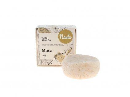 Navia - Tuhý šampon s kondicionérem Maca 25g