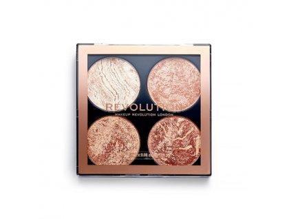 Makeup Revolution - Paletka na tvář Don't Hold Back