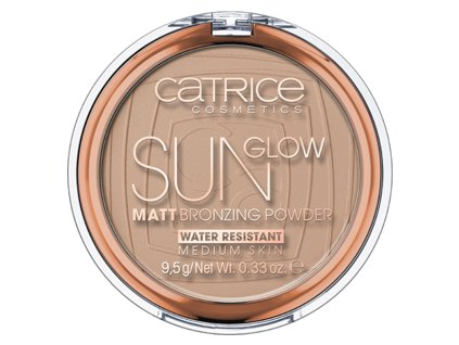 CATRICE - Bronzující Pudr Sun Glow 030 Medium Bronze
