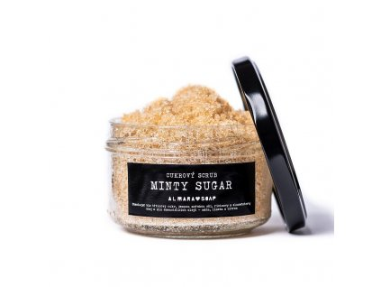 Almara Soap - Scrub Minty Sugar