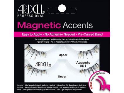 ARDELL - Magnetické řasy Accents 001 + aplikátor na magnetické řasy