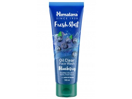 Himalaya Herbals - Fresh start Mycí gel na obličej borůvka 100ml