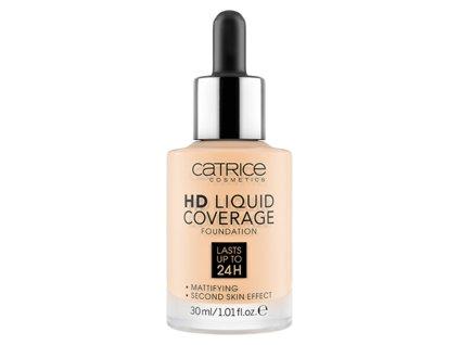 Catrice - make-up HD Liquid Coverage Foundation 002 Porcelain Beige 30ml